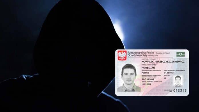 haker dowód osobisty