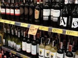 stoisko z alkoholem