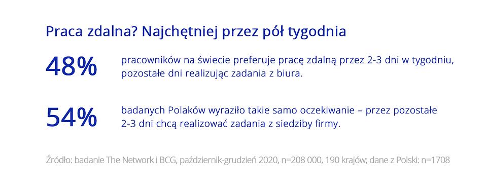 Badanie Polacy na tle świata Zdalni i elastyczni w pracy 3