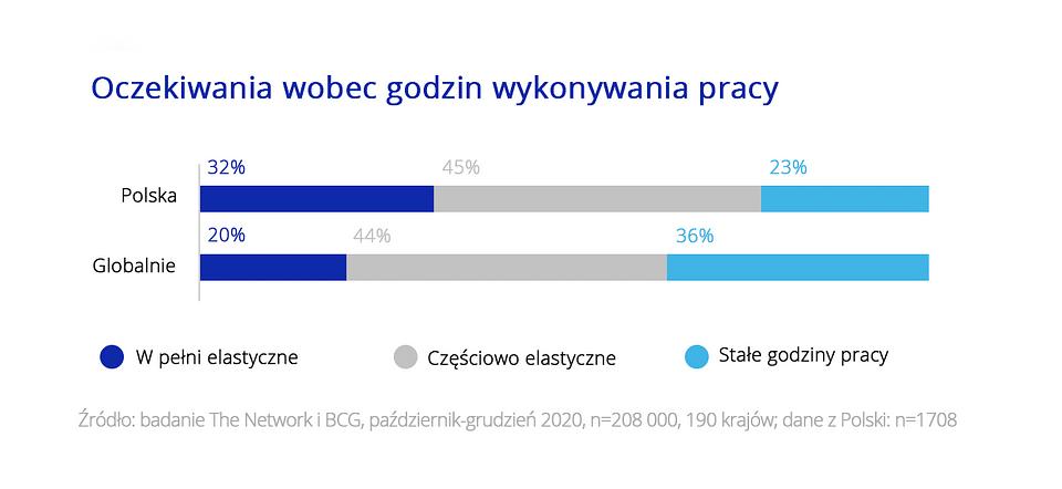 Badanie Polacy na tle świata Zdalni i elastyczni w pracy 4