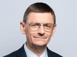 Prezes Polskiej Agencji Kosmicznej prof. dr hab. Grzegorz Wrochna