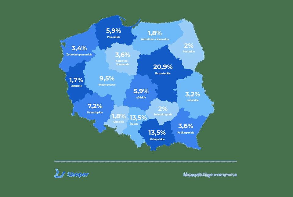 Mapa polskiego e-commerce
