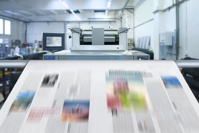 druk prasa gazeta