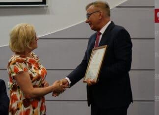 Halina Pupacz i Adam Abramowicz