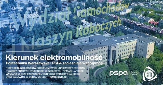 Kierunek elektromobilność. Politechnika Warszawska i PSPA zacieśniają współpracę