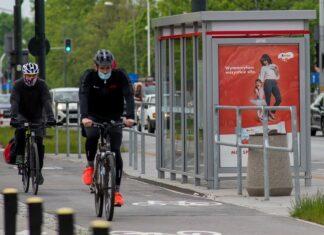 Reklama zewnętrzna rower