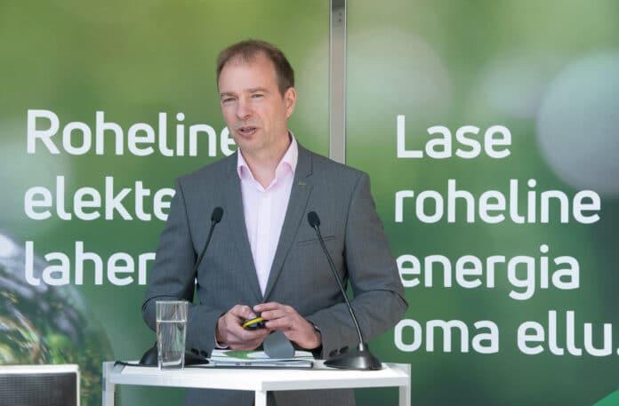 Hando Sutter, Prezes Zarządu Eesti Energia