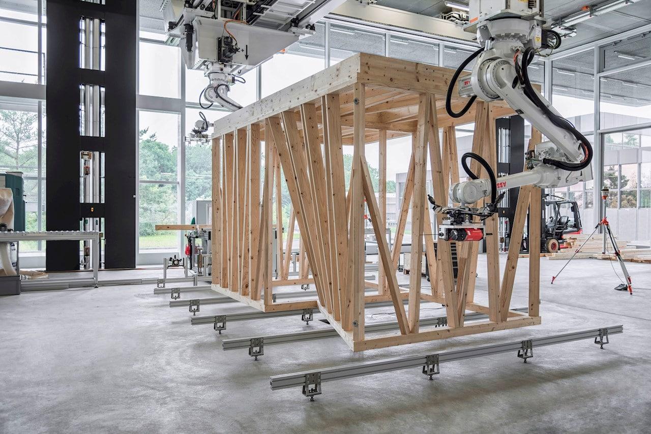 Roboty ABB w budownictwie 2