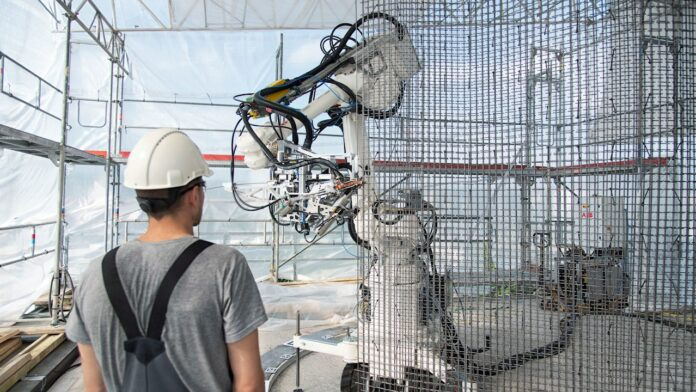 Roboty ABB w budownictwie