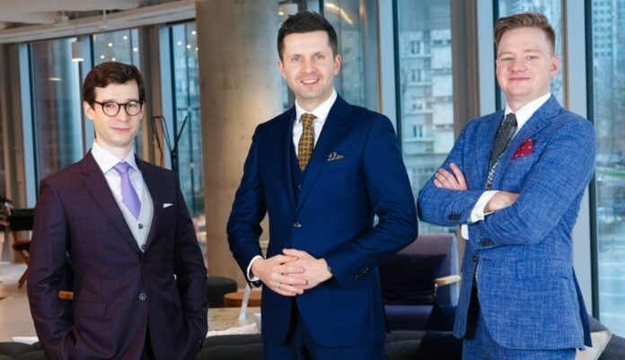 SentiOne – Michal Brzezicki VP, Kamil Bargiel CEO, Bartosz Bazinski COO