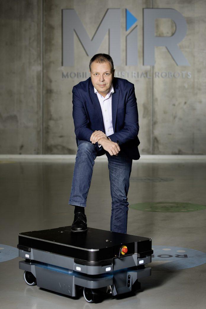Søren E. Nielsen, prezes Mobile Industrial Robots