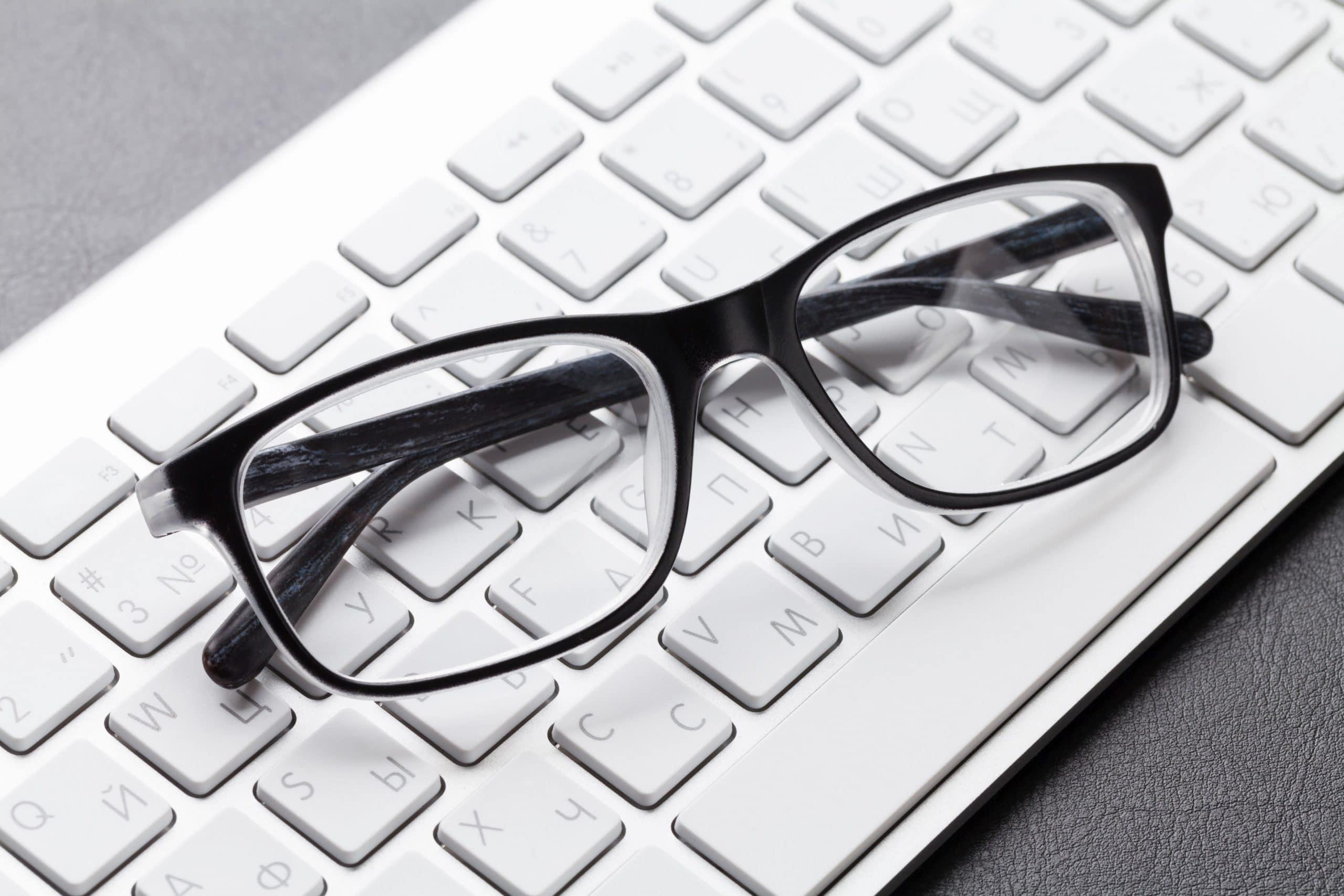 Kupowanie okularów przez Internet