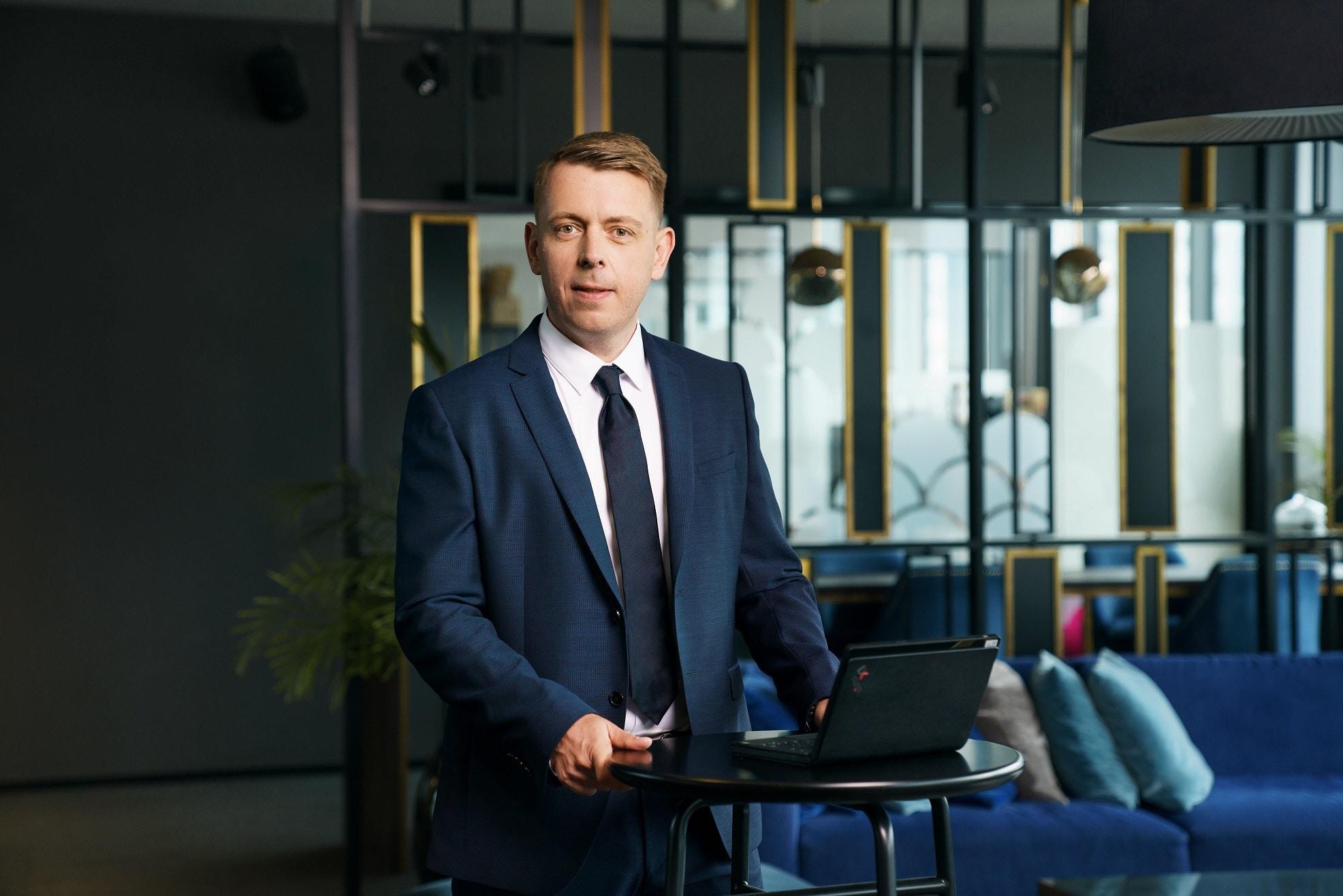 Tomasz Klewinowski, SMB Segment Leader wLenovo Polska