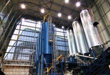 Węzeł Stabilizowania i Zestalania- silosy pyłów i silosy substratów