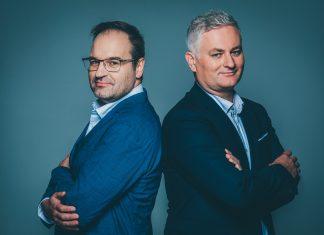 prof. Stefan Dziembowski i Piotr Sankowski