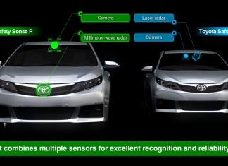 Toyota i Lexus wprowadzą automatyczne hamowanie awaryjne jako standard 5 lat przed innymi producentami