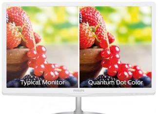 Philips – monitor z kropka kwantowa