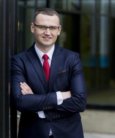Paweł Gos, prezes Exact Systems