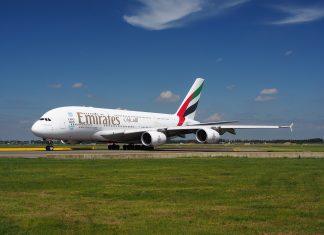Emirates samolot Airbus A380